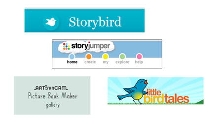 Sites for writing stories